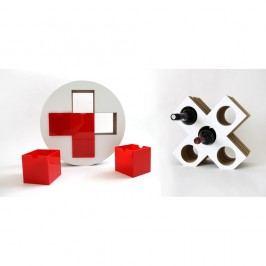 Set červené lékárničky a vinotéky Unlimited Design for kids