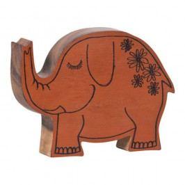 Dřevěná figurka ve tvaru slona Vox Kids
