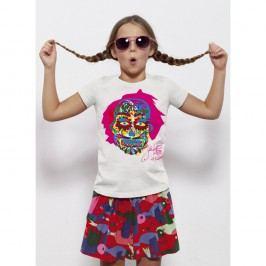 Dětské tričko s krátkým rukávem KlokArt Lebka, pro 7-8 let