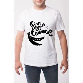 Pánské tričko s krátkým rukávem Give , vel. XXL