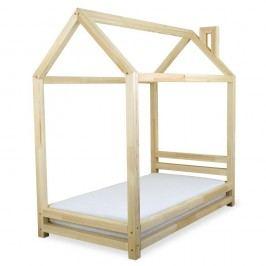 Dětská postel z lakovaného borovicového dřeva Benlemi Happy,80x160cm