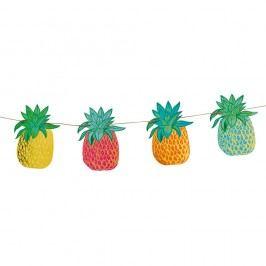 Girlanda s papírovými ananasy Talking Tables Fiesta Obrazy, rámy atabule