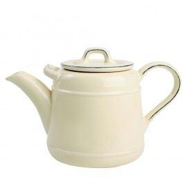 Krémová keramická čajová konvice T&G Woodware Pride Of Place,1,5l