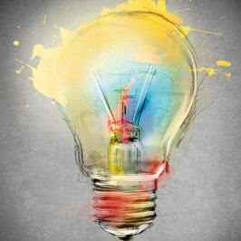 Obraz Bulb,60x60cm