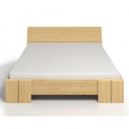 Dvoulůžková postel z borovicového dřeva SKANDICA Vestre Maxi, 180x200cm