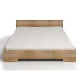 Dvoulůžková postel z bukového dřeva s úložným prostorem SKANDICA Spectrum Maxi, 140x200cm