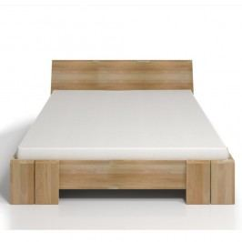 Dvoulůžková postel z bukového dřeva SKANDICA Vestre Maxi, 160x200cm