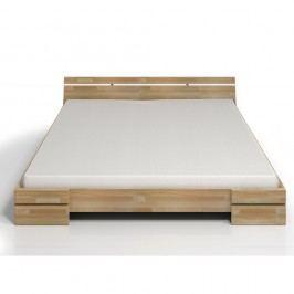 Dvoulůžková postel z bukového dřeva SKANDICA Sparta, 180x200cm