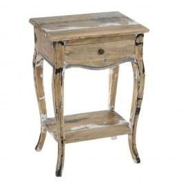 Noční stolek ze dřeva mindi Santiago Pons Awe