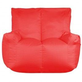 Červený sedací vak pro dva Sit and Chill Coron