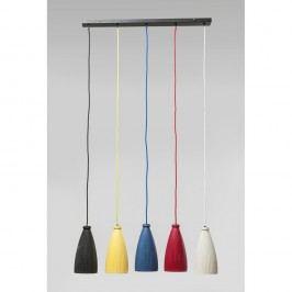 Závěsné svítidlo s 5 stínidly Kare Design Art Colore