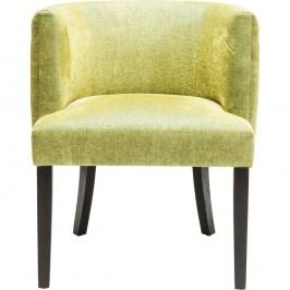 Zelená židle Kare Design Theater