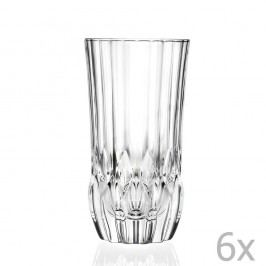 Sada 6 sklenic RCR Cristalleria Italiana Bettina, 400ml