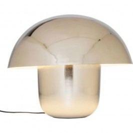 Stolní lampa v chromové barvě Kare Design Mushroom