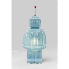 Modrá stolní lampa Kare Design Robot