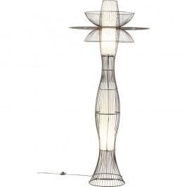 Černá stojací lampa Kare Design Capello