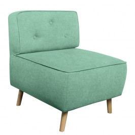 Mentolově zelené křeslo Kooko Home Lounge