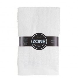 Bílý bavlněný ručník Zone Classic,50x100cm