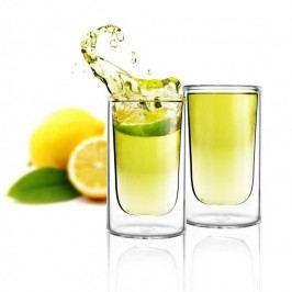 Sada 2 dvojitých skleniček Vialli Design Amo Shot, 50ml