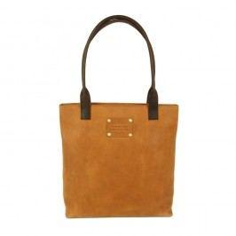 Světle hnědá kožená kabelka O My Bag Posh Stacey midi