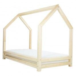 Přírodní jednolůžková postel z borovicového dřeva Benlemi Funny, 90x160cm