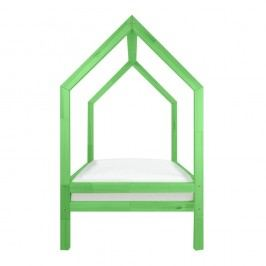 Sada 4 zelených přídavných nohou k posteli Benlemi Funny