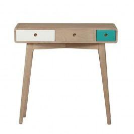 Konzolový stolek z masivního mangového dřeva Woodjam Play Light