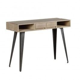 Konzolový stolek z masivního mangového dřeva Woodjam Indiana
