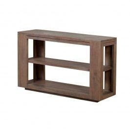 Konzolový stolek  z masivního šedě mořeného akáciového dřeva Zara