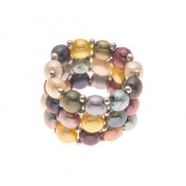 Prsten Pearls Multicolour