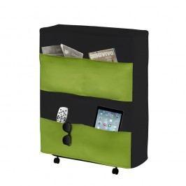 Zelenočerná skládací postel 13Casa Brenda