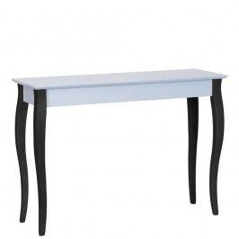 Světle šedý konzolový stolek s černými nohami Ragaba Lilo, šířka 105cm