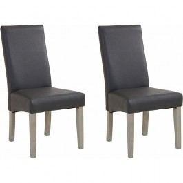 Sada 2 šedých jídelních židlí  Støraa Matrix