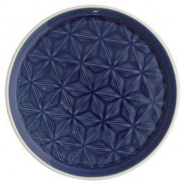 Tmavě modrý keramický talíř Green Gate Kallia, průměr20,5cm
