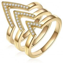 Trojitý prsten Ines Cavalera Martha, vel. 58