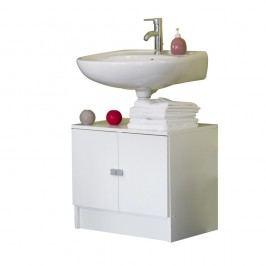Bílá koupelnová skříňka pod umyvadlo Symbiosis André