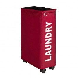 Červený koš na prádlo Wenko Corno, 44,4 l Vybavení koupelny