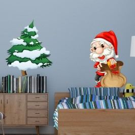 Vánoční samolepka Fanastick Pere Noel
