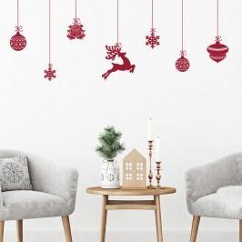 Vánoční samolepky Ambiance Style Scandinave
