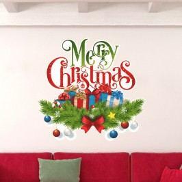 Vánoční samolepka Fanastick Christmas Avec Neige Obrazy, rámy atabule