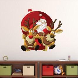 Vánoční samolepka Fanastick Allure Ses Rennes