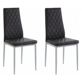 Sada 2 černých židlí Støraa Barak