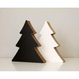 Velký oboustranný stromek s popisovací plochou Unlimited Design for kids Vánoční dekorace