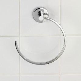 Samodržící kruhový držák na ručníky Wenko Vacuum-Loc Capri, nosnost až33kg Vybavení koupelny