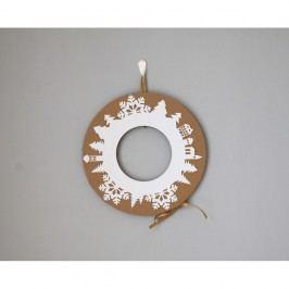 Adventní věnec se zlatou stuhou Unlimited Design for kids Vánoční dekorace