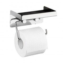 Samodržící držák na toaletní papír s odkládací plochou Wenko Vybavení koupelny