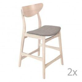 Sada 2 barových židlí RGE William