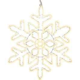 Závěsná svítící LED dekorace Best Season NeoLED Snowflake Gold