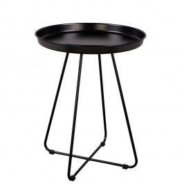 Černý odkládací stolek Nørdifra Tray Coffee