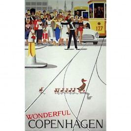 Pohlednice Architectmade Wonderful Copenhagen Obrazy, rámy atabule